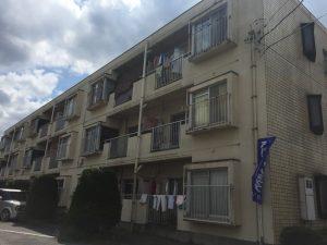約4年間住んだアパート