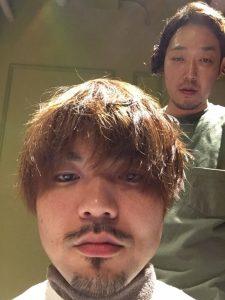 ボサボサでしょ^^;やる気なのか!?Mr.石井!?