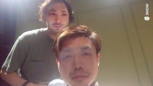 Mr.石井と浮田の顔を入れ替えてみる(笑)