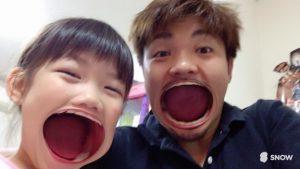メッチャ楽しみにしている娘とオヤジ(^^)