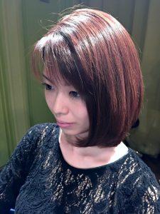 モーブ(紫)で秋カラー♡