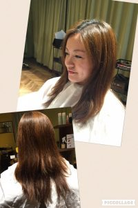 夏の紫外線を浴びてダメージしてしまった髪の毛。 ロングも素敵でしたが…