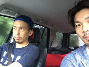 仲良くさせてもらってる美容師の先輩、寺田オーナと♪ 僕達は丘サーファーです(笑)