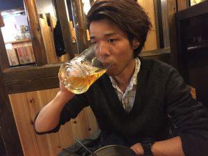 染谷!飲む!!