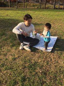 シートとか広げて公園で遊ぶってなんかいいよね〜^_^