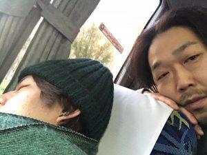 爆睡(笑)