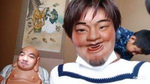 浮田の神と顔をシャッフル(笑)