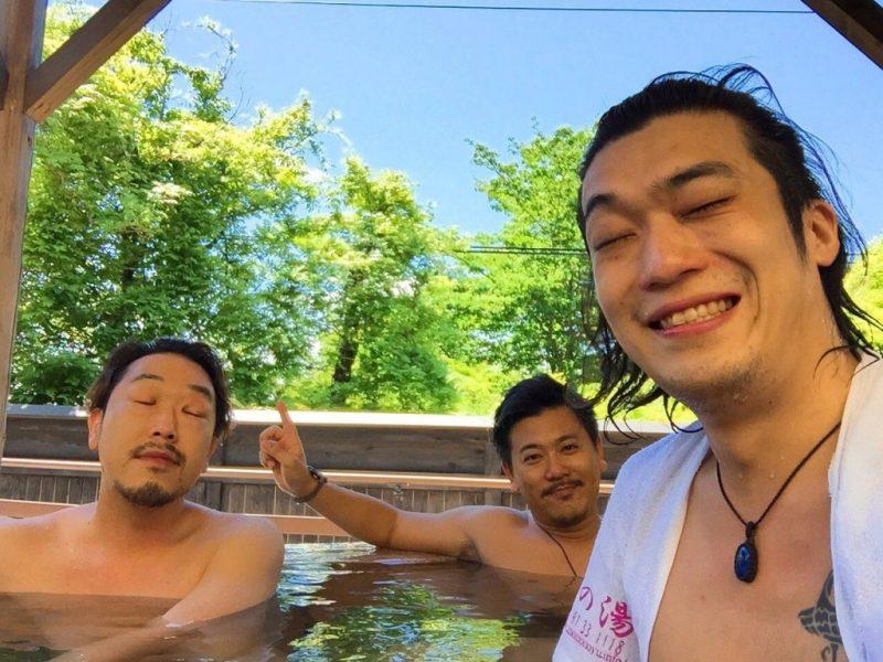 一ノ関「桃の湯」にてマジの裸(笑)
